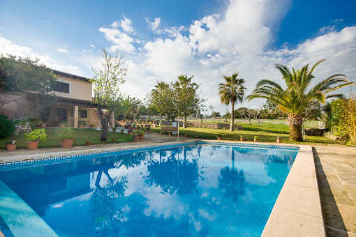 Enjoy the terrace with swimming pool.